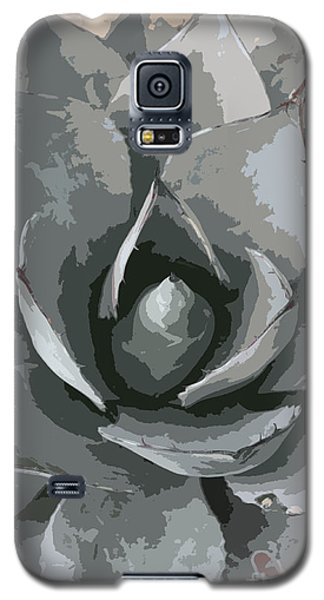 Aloe Vera Abstract Galaxy S5 Case by Christiane Schulze Art And Photography