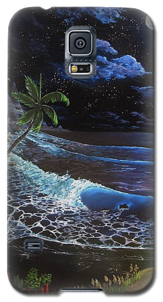 Aloha Luna Galaxy S5 Case by Kevin F Heuman