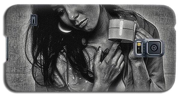Galaxy S5 Case featuring the photograph Alone Again ... by Chuck Caramella