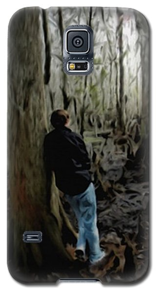 Alone In His Thoughts Galaxy S5 Case