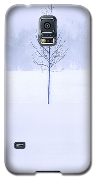 Alone In The Snow Galaxy S5 Case by Andrew Soundarajan