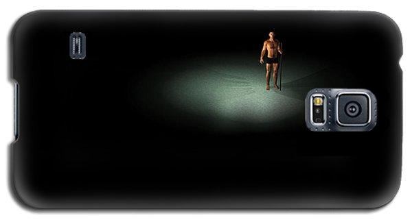 Galaxy S5 Case featuring the digital art Alone... by Tim Fillingim