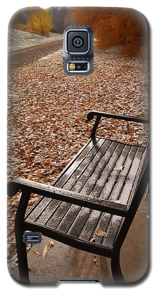 Alone With Autumn Galaxy S5 Case