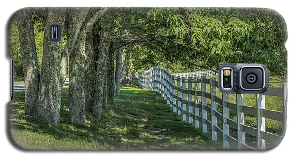 Galaxy S5 Case featuring the photograph Along A Country Road by Jane Luxton