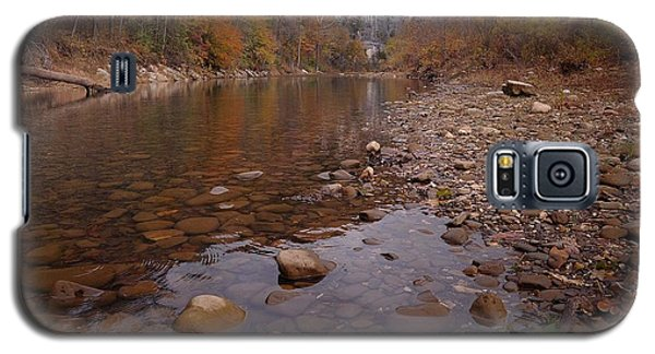 Along The Autumn Stream Galaxy S5 Case by Renee Hardison