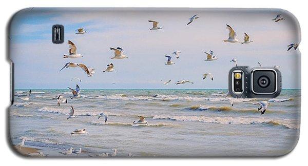 Along The Beach Galaxy S5 Case