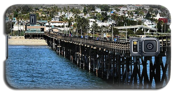 Galaxy S5 Case featuring the photograph Along The Pier by Michael Gordon