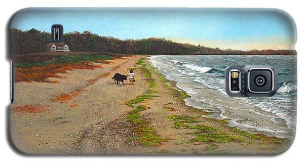 Along The Shore In Hyde Hole Beach Rhode Island Galaxy S5 Case