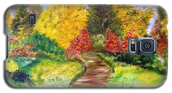 Galaxy S5 Case featuring the painting Along The Shunga Trail by The GYPSY And DEBBIE