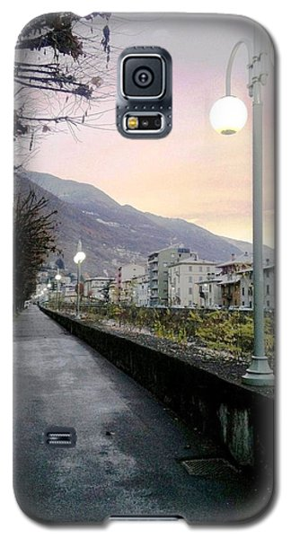 Along The Stream Morning First Light Galaxy S5 Case by Giuseppe Epifani