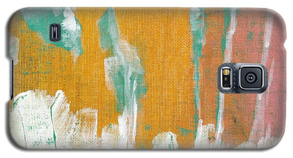 Galaxy S5 Case featuring the painting Along The White Picket Fence C2013 by Paul Ashby