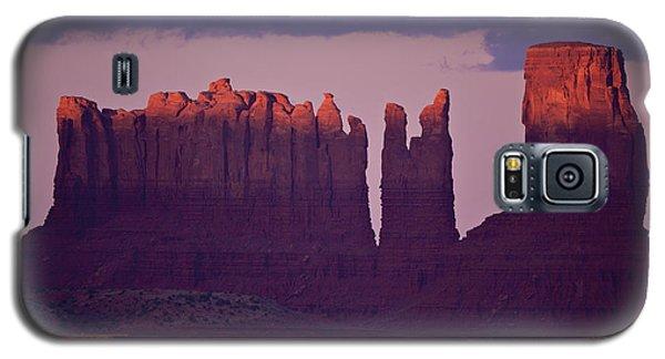 Alpen Glow On Monument Valley  C6j4475 Galaxy S5 Case