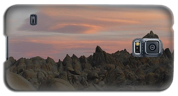 Alpenglow And Boulders Galaxy S5 Case