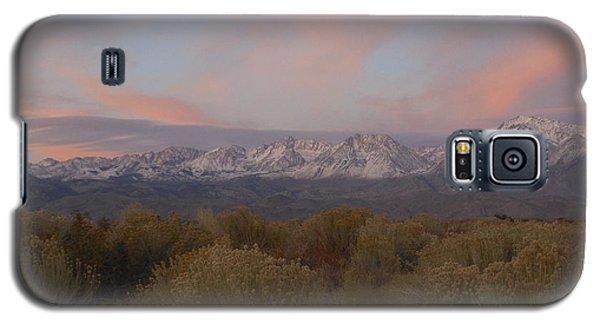 Alpenglow Owens Valley Galaxy S5 Case