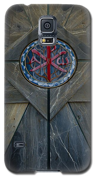 Alpha And Omega Chi Rho Galaxy S5 Case
