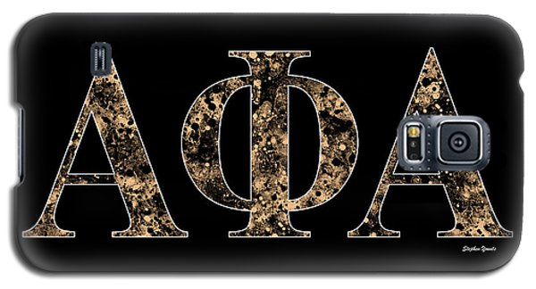 Florida State Galaxy S5 Case - Alpha Phi Alpha - Black by Stephen Younts