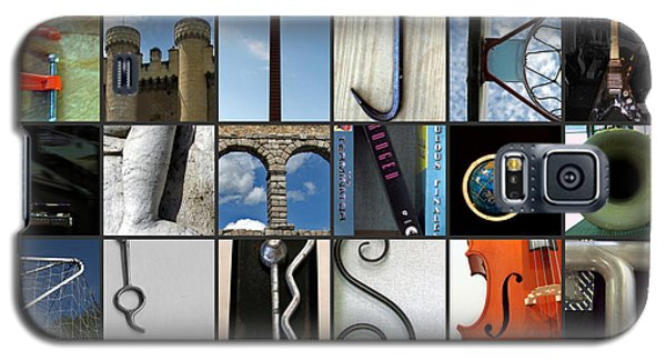 Galaxy S5 Case featuring the photograph Alphabet by Farol Tomson
