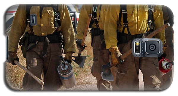 Alpine Hotshots Prepare To Ignite Cold Brook Prescribed Fire Galaxy S5 Case