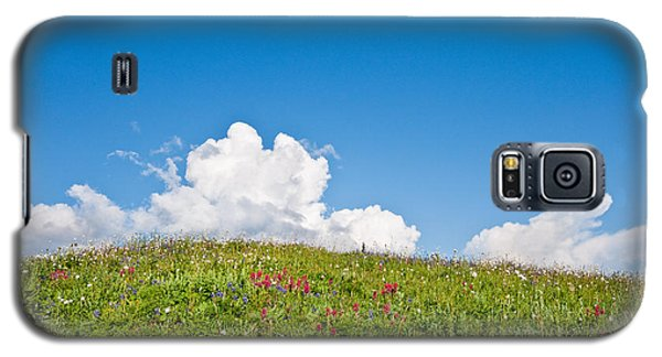 Alpine Meadow And Cloud Formation Galaxy S5 Case