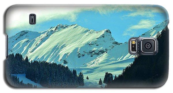 Alps Green Profile Galaxy S5 Case