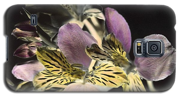 Galaxy S5 Case featuring the photograph Alstroemeria by Lana Enderle