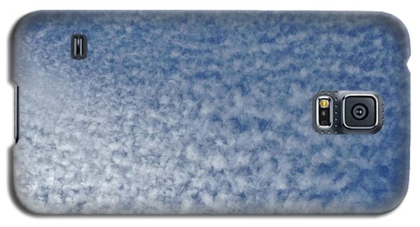 Galaxy S5 Case featuring the photograph Altocumulus Clouds by Jason Williamson