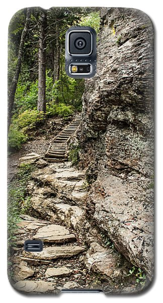 Alum Cave Trail Galaxy S5 Case by Debbie Green