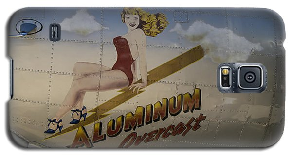 Galaxy S5 Case featuring the photograph Aluminum Overcast  by Wayne Meyer
