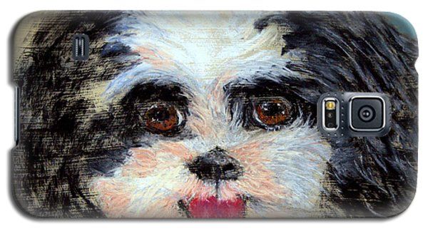 Always A Happy Face Wip Galaxy S5 Case by Antonia Citrino