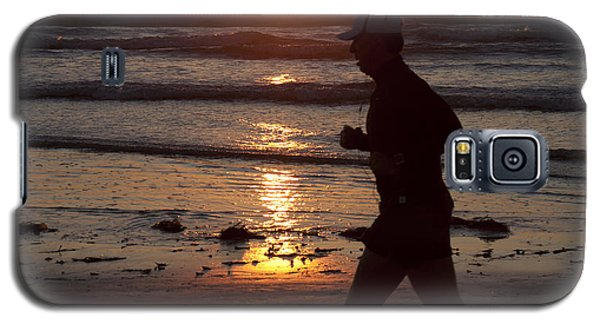 Galaxy S5 Case featuring the photograph Always A Runner by Nathan Rupert