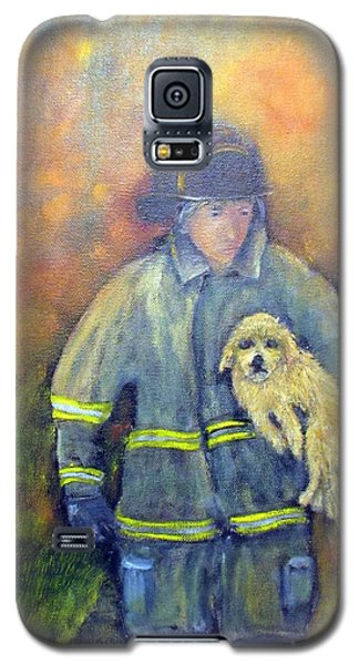Always On Call - Fireman Galaxy S5 Case
