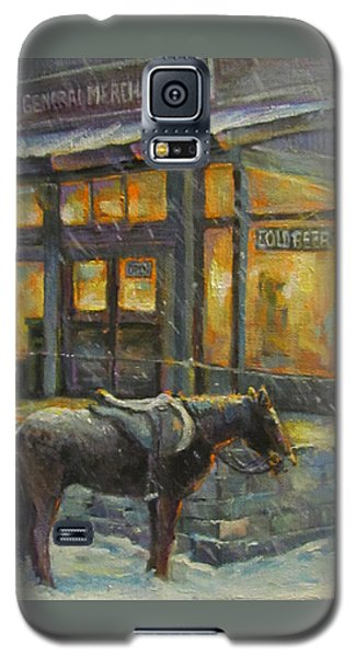 Galaxy S5 Case featuring the painting Always Open by Donna Tucker