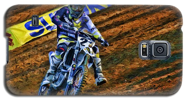 Ama 450sx Supercross Jason Anderson Galaxy S5 Case