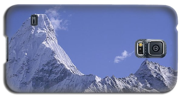 Galaxy S5 Case featuring the photograph Ama Dablam Nepal by Rudi Prott