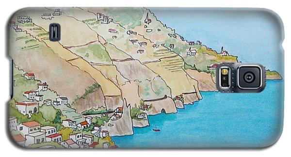 Amalfi Coast Praiano Italy Galaxy S5 Case