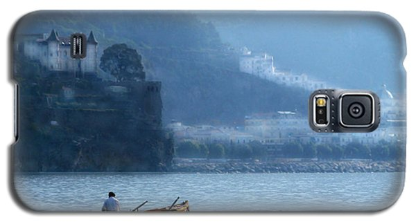 Galaxy S5 Case featuring the photograph Amalfi To Capri. Italy by Jennie Breeze