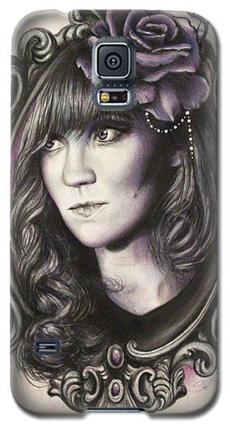 Amanda Denis - Tribute Portrait  Galaxy S5 Case by Sheena Pike