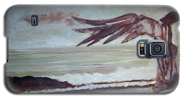 Galaxy S5 Case featuring the painting Amaranth by Jarmo Korhonen aka Jarko