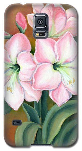 Amaryllis For Ladies Galaxy S5 Case