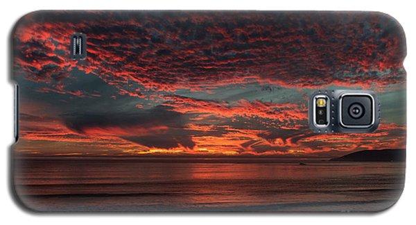 Amazing Blazing Sunset Galaxy S5 Case