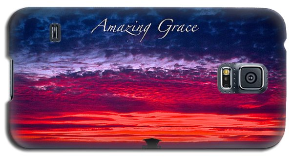 Galaxy S5 Case featuring the photograph Red Sky At Night by Margie Amberge