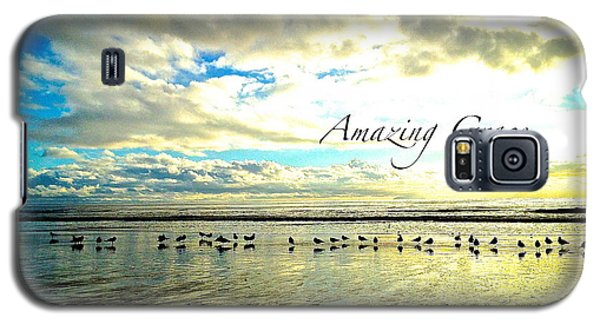 Galaxy S5 Case featuring the photograph Amazing Grace Sunrise 2 by Margie Amberge