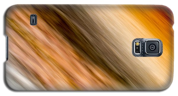 Amber Diagonal Galaxy S5 Case