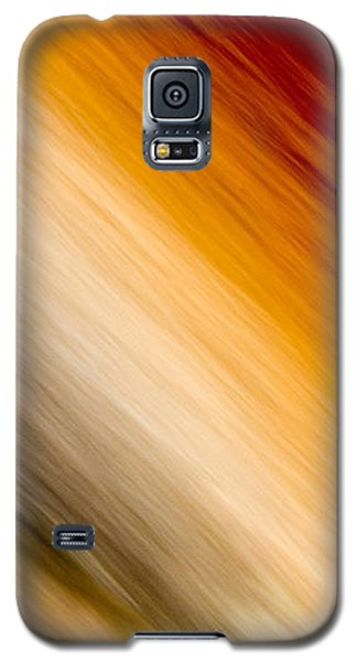 Amber Diagonal Galaxy S5 Case