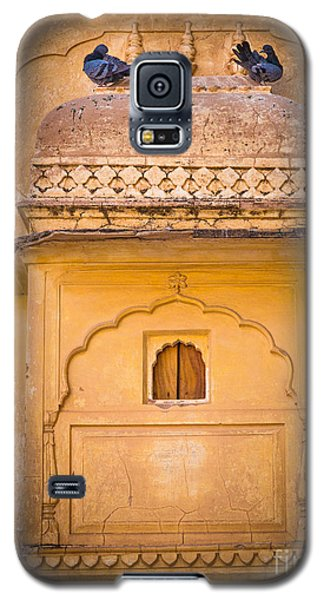 Amber Fort Birdhouse Galaxy S5 Case by Inge Johnsson