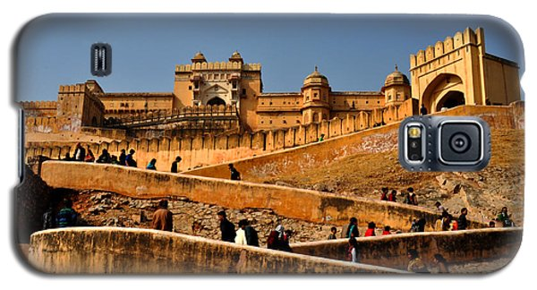 Galaxy S5 Case featuring the photograph Amber Fort by Diane Lent
