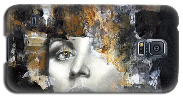 Portraits Galaxy S5 Case - Amber by Patricia Ariel