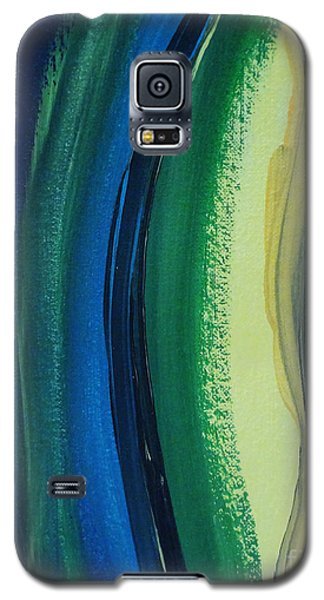 Galaxy S5 Case featuring the painting Ambien by Arlene Sundby