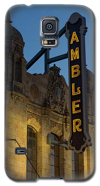 Ambler Theater Marquee Galaxy S5 Case