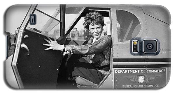 Amelia Earhart - 1936 Galaxy S5 Case by Daniel Hagerman